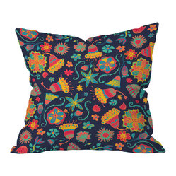 Arcturus Bloom 1 Throw Pillow, 20x20x6