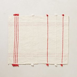 """Anthropologie - Ribbon-Weave Placemat - No two are exactly alikeBy Creative WomenCottonMachine wash20""""L, 14""""WHandmade in Ethiopia"""