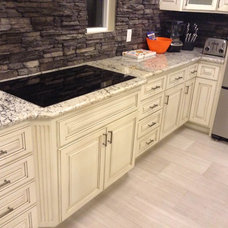 Traditional Kitchen Cabinetry by Affiza Inc