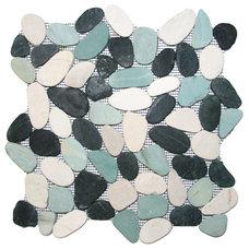 Beach Style Tile by Pebble Tile Shop