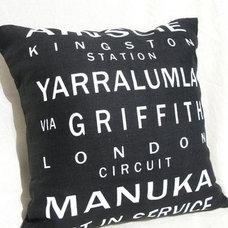 Contemporary Decorative Pillows by BlueCaravan