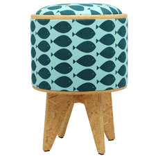 Contemporary Ottomans And Cubes by Patron Design