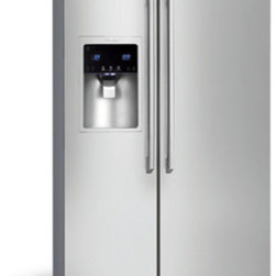 Standard-Depth Side-By-Side Refrigerator with Wave-Touch® Controls by Electrolux - Perfect Temp® Drawer with Luxury-Close