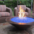 "Grand Effects One Bowl 30"" Essex Fire Bowl System - -Available in Automated and Manual System Models"
