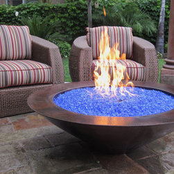"""Grand Effects One Bowl 30"""" Essex Fire Bowl System - -Available in Automated and Manual System Models"""
