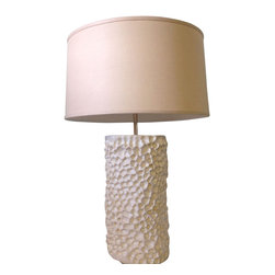 maggie minor designs coral table lamp white inspired. Black Bedroom Furniture Sets. Home Design Ideas