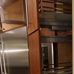 Pantry Pull Out - Cabinetry by Architectural Justice