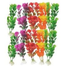 Amazon.com: Como 10 Pcs Colorful Aritificial Plastic Aquascaping Plant Grass for