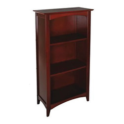 KidKraft - Kidkraft Kids Decor Reading Book Storage Organizer Avalon Tall Bookshelf Cherry - Our Avalon Bookshelf has a classic design that would make a great addition to any room of the house. This is a perfect shelf for displaying books, toys, picture frames and more.