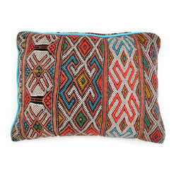 Tribal Weave Moroccan Pillow