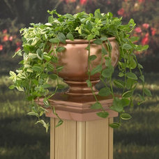 Traditional Outdoor Pots And Planters by The Deck Store Online