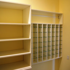 Contemporary Closet by SpaceMan Home & Office