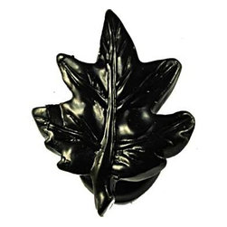Sierra Lifestyles - Maple Leaf Knob - Black (SIE-681319) - Maple Leaf Knob - Black