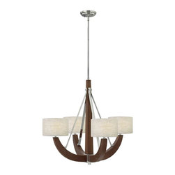 Fredrick Ramond - Fredrick Ramond FR42344PCM Cameron Polished Chrome 4 Light Chandelier - Fredrick Ramond FR42344PCM Cameron Polished Chrome 4 Light Chandelier