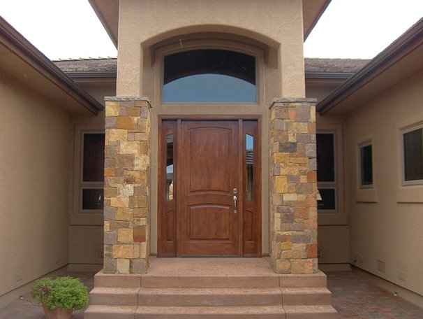 Traditional Front Doors by Woodsmith Custom Millwork