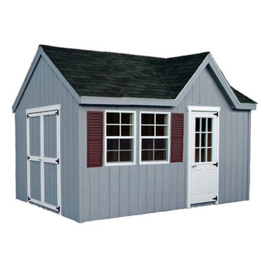 Fifthroom - Victorian Chalet Shed with Dura-Temp Siding -