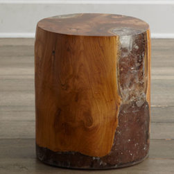 Horchow - Sherwood Oval Side Table - An unusual marriage of natural wood and acrylic gives this side table drama and presence. Whether you use it singly as a side table, in multiples as a coffee table alternative, or as a dynamic pedestal for artwork, this piece is sure to spark conversati...