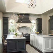 Kitchens / Gray And White Kitchens Design, Pictures, Remodel, Decor and Ideas -