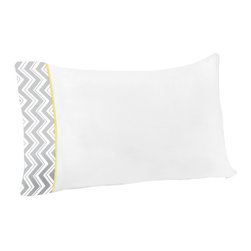 Sweet Jojo Designs - Zig Zag Yellow and Gray 4-Piece Queen Sheet Set by Sweet Jojo Designs - The Zig Zag Yellow and Gray 4-Piece Queen Sheet Set by Sweet jojo designs, along with the bedding accessories.