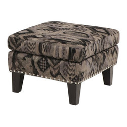 Armen Living - Armen Living Maxton Ottoman - Black - LCMXOTBL - Shop for Ottoman & Footstools from Hayneedle.com! Add stylish functionality to your lounging space with the Armen Living Maxton Ottoman Black. Kick up your feet or pull up a seat with this handsome accent piece. Made with a soft poly fabric upholstery and silver nail head trim it complements any transitional decor. Black finished wood feet complete its casual appeal.About Armen LivingImagine furniture without limits - youthful robust refined exuding self-expression at every angle. These are the tenets Armen Living's designers abide by when creating their modern furniture collections. Building on more than 30 years of industry experience Armen Living combines functional versatility and expert craftsmanship into their dramatic furniture styles all offered at price points fit for discriminating budgets. Product categories include bar stools club chairs dining tables ottomans sofas and more. Armen Living is based in Sun Valley Calif.