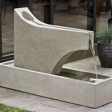 Modern Outdoor Fountains by Potted