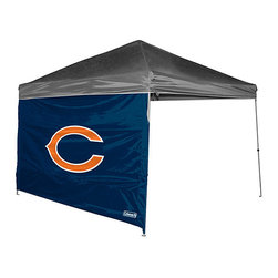 Jarden Sports Licensing - Chicago Bears Canopy Wall - Give your game day canopy an extra wall of spirited protection from the elements with this full-color and easy-to-attach wall. �� Fits 10' x 10' canopy Oxford polyester Spot clean Canopy not included Imported