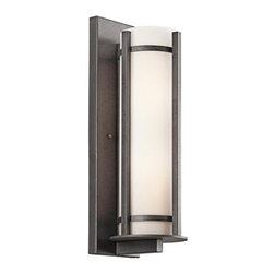 """Kichler - Kichler 49120AVI Camden Collection 2 Light 20"""" Outdoor Wall Light - Kichler 49120 Camden Outdoor Wall Light"""