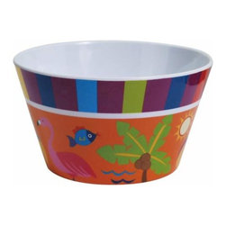 WL - 2.75 Inch Flamingo Motif Dining Ware 14 Ounce Snack Bowl Server - This gorgeous 2.75 Inch Flamingo Motif Dining Ware 14 Ounce Snack Bowl Server has the finest details and highest quality you will find anywhere! 2.75 Inch Flamingo Motif Dining Ware 14 Ounce Snack Bowl Server is truly remarkable.