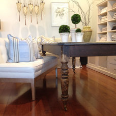 Eclectic Dining Tables by Quatrine Custom Furniture