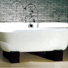 Modern Bathtubs Alda Oriental Style Dual Bath Tub