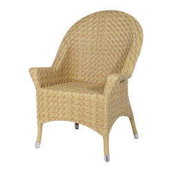 Portofino Outdoor Chair, Natural