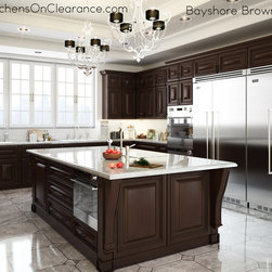 Bayshore Brown - KitchensOnClearance.com