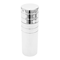Plaza Cocktail Shaker - A must-have for any home bar. This tall parisian stainless steel cocktail shaker has great details - quality steel work anda raindrop shaped strainer. Designed from the unibody concept, this shaker has no welds and a classic, bold silhouette.Designed by Rubens Simes, handmade in Brazil.