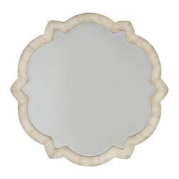 Silver Nest - Pearl Shift Accent Mirror- 40x38 - Finish: Pearl Essence