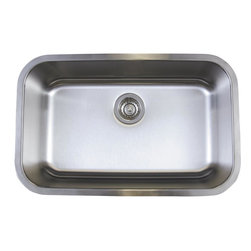 Blanco - Blanco 441024 Stainless Steel Stellar Super Single Bowl - Product features