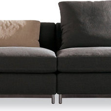 contemporary sectional sofas by Minotti