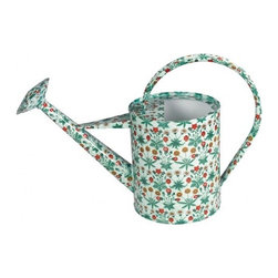 Daisy Watering Can - The beautiful floral pattern on this watering can actually has historical significance. It was a pattern originally released as wallpaper by Morris and Company in the 1860s. The design may be vintage, but the watering can is quite contemporary.