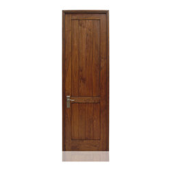 "Traditional Collection | 2699 | 26-40 - Species: Superior Walnut, Distress: Smooth, Hinges: 4.-4.5"" Ball Bering Hinges Pewter, Interior Door"
