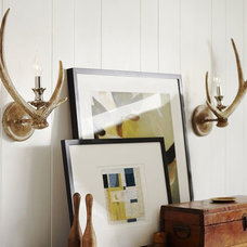 Faux-Antler Sconce, Set of 2 | Pottery Barn