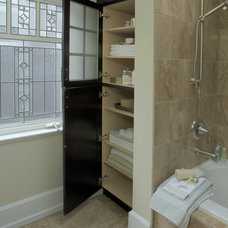 Transitional Bathroom by Kitchen Craft Cabinetry Vancouver and Victoria