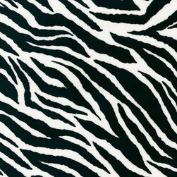 Black and White Zebra Minky Fabric - This Black and White Zebra Minky is so soft and luxurious. Easy care fabric is machine washable while retaining its incredibly plush feel. Perfect for baby blankets!
