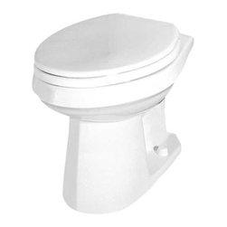 GERBER PLUMBING - Gerber Maxwell Bowl Ada Elongated White - Features: