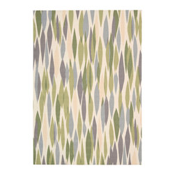 """Nourison - Nourison Waverly Sun&Shade SND01 (Violet) 7'9"""" x 10'10"""" Rug - Sun n' Shade Collection by Waverly offers a fresh perspective on indoor/outdoor rugs. The exciting color palettes and myriad of designs combine Waverly's keen sense of today's style in a timeless fashion. These versatile rugs are beautiful to look at, soft to walk on, easy to clean and can withstand almost all outdoor conditions. Indoor or Outdoor Uses, UV Protected, Mildew Proof, Fade Resistant, Easy Clean: Just Rinse with a Hose"""
