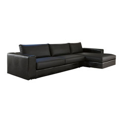Nightfly Sofa with Chaise-Right Facing Chaise