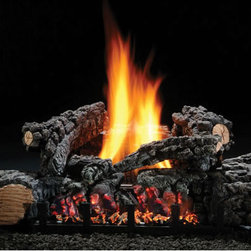 "HARGROVE MANUFACTURING - 22"" Highland Glow Vent-free Log Set, Natural Gas - 22"" Highland Glow Vent-free Log Set, Natural Gas, Fits Fireplace Minimum Opening Of 16""h X 28""w X 12""d"