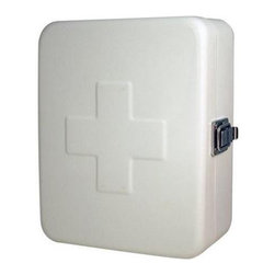 First Aid Storage Box - Be prepared for an emergency (and look good doing it) with this steel first aid box.