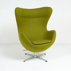 Modern Classics - Jacobsen: Egg Chair Reproduction - Features: