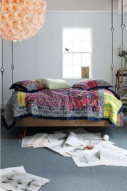 eclectic bedroom Anthropologie Home