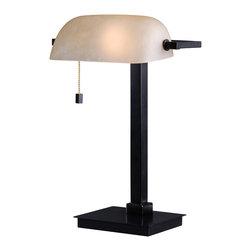 Kenroy - Kenroy 32305ORB Wall Street Desk Lamp - Kenroy 32305ORB Wall Street Desk Lamp