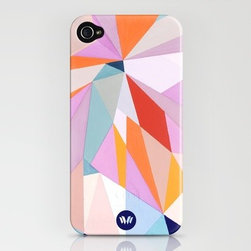 CORTEO by Nuria Mora iPhone Case - If you've got a clumsy iPhone-toting friend, a case like this will help provide a little cushion for those inevitable drops. And the bright pattern will make a ringing phone easy to find in an oversize purse.